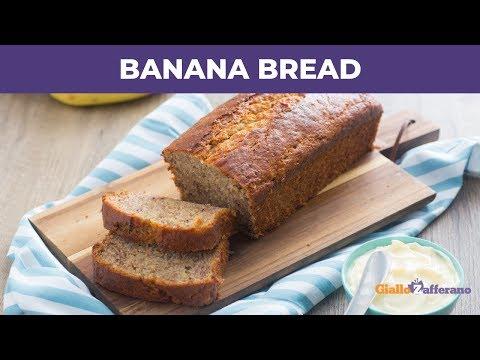 BANANA BREAD - Plumcake alla banana facile e soffice