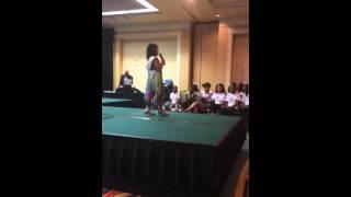 Cynthia Bailey Miss Renaissance Pageant 2014 (spoken word performance)