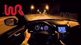 2016 Kia Optima SX Turbo - WR TV POV Night Drive