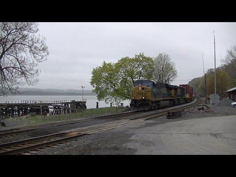 Railfanning CSX's River Subdivision 4/27/2017