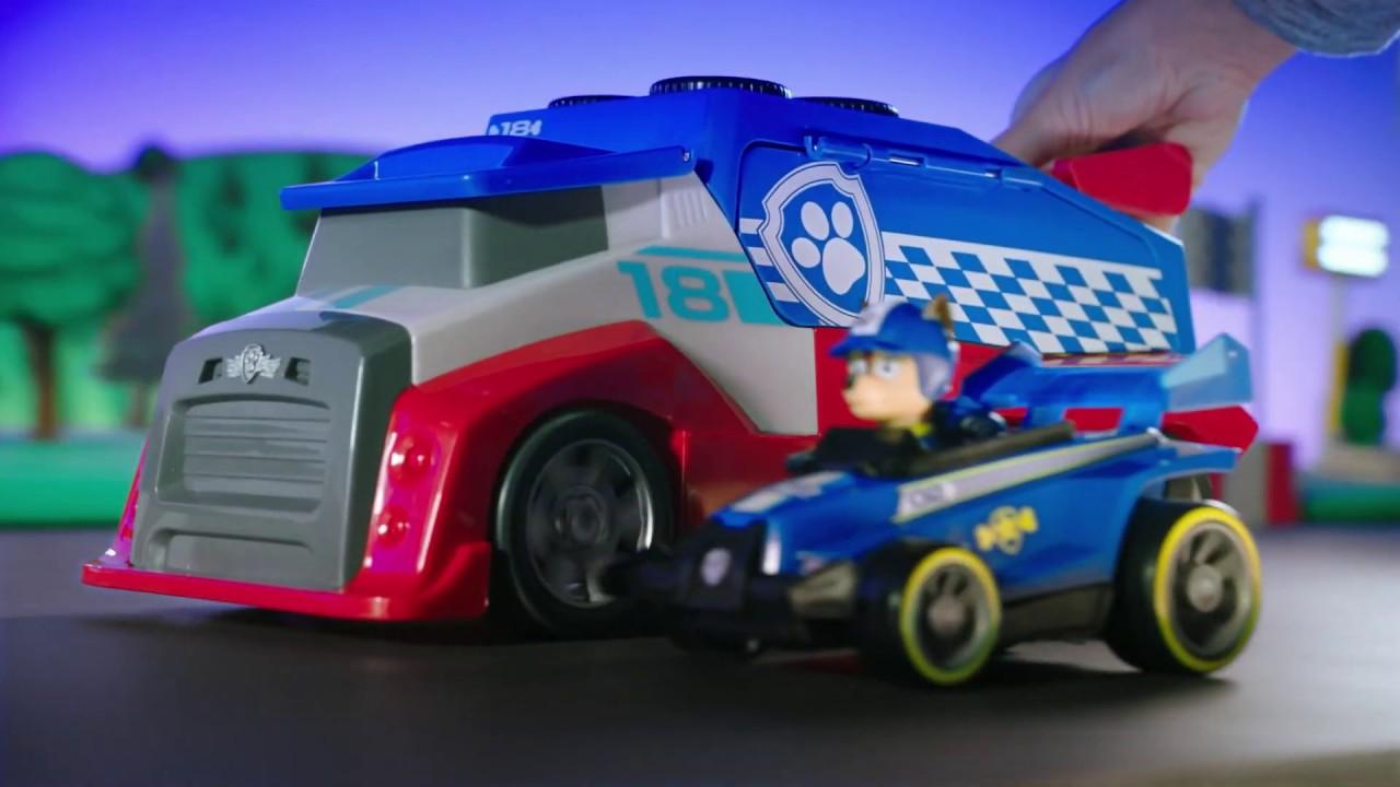 PAW Patrol Ready Race Rescue Mobile Pit Stop - Smyths Toys