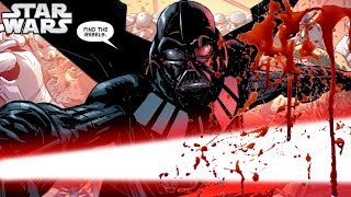 FINAL Vader Comic Explained and Brought to Life [CANON] - Star Wars Explained