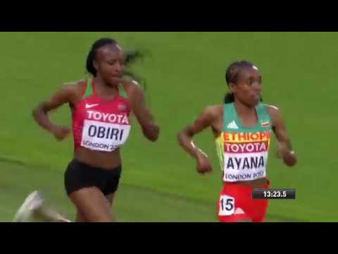 RE-LIVE!!! 5000m womens FINAL World Championships 2017 FULL RACE!!!