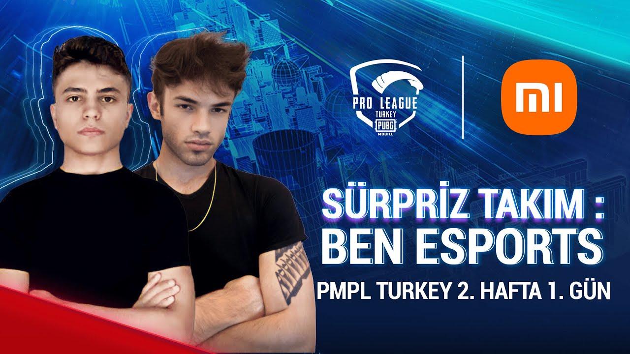 [TR] 2021 PMPL Turkey H2G1   Sezon 2   Xiaomi   PUBG MOBILE Pro League 2021