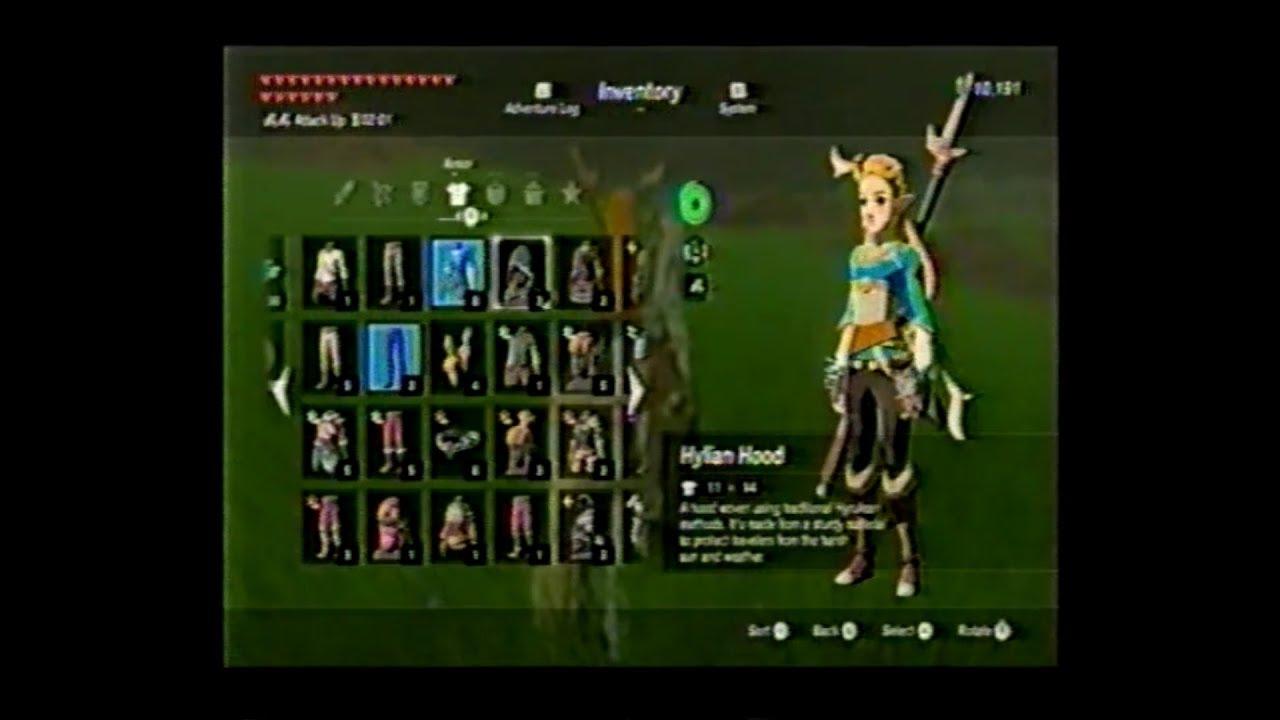 BotW Zelda Mod Tutorial and Demonstration (Wii U)