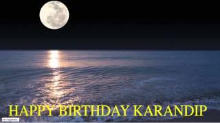 Karandip  Moon La Luna - Happy Birthday