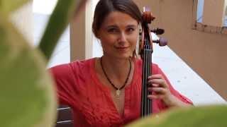 Jen Kuhn's Mini Bach Break No.3 - Bach Solo Cello Suite in G Major - Courante