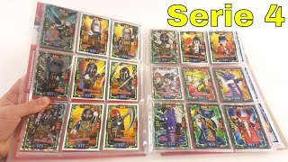 LEGO Ninjago Trading Card Game Serie 4 / Mappenupdate alle 252 Karten + 25 limitierte Karten