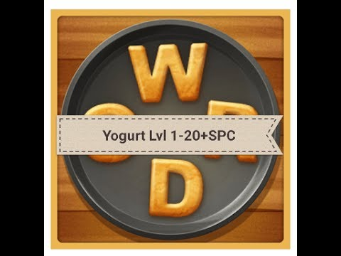 Word Cookies Yogurt Answers Levels 1-20 Plus Special Level