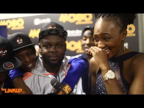 Section Boyz Backstage At The MOBO Awards 2015 with Remel London @Remel_London @SectionBoyz_