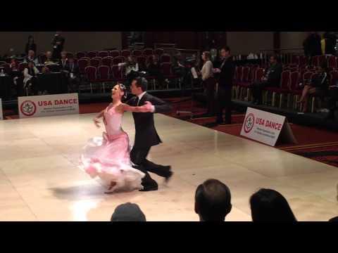 Nationals 2015 - Champ Smooth Viennese Waltz - Paul Freitas & Kelly Glasheen - USADance