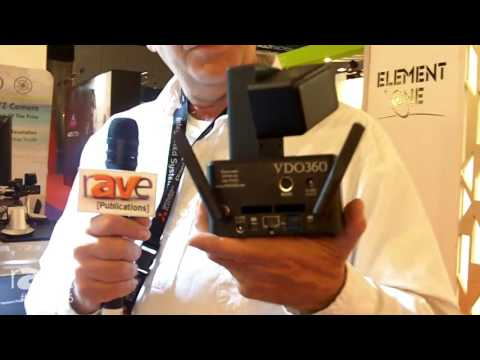 ISE 2016: VDO360 Debuts Clearwater PTZPC