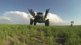 Canadian Grain Farm - Freitag Farms 2014 (GoPro HD)