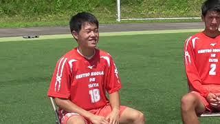 矢板中央サッカー部 三年生選手インタービュー