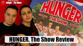 Hunger the Show Board Game Video Review