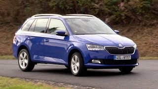 New 2018 Škoda Fabia Combi | Driving footage
