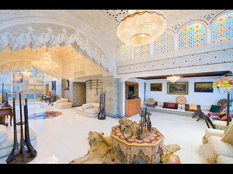 Best Visualization Tools - Stunning Arabian Palace Styled Glass Home - 1080p
