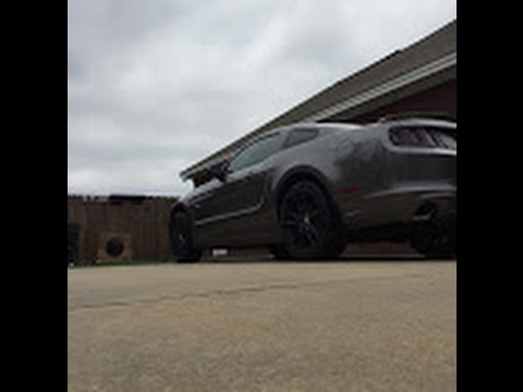 Mustang Gt Decklid Removal Youtube