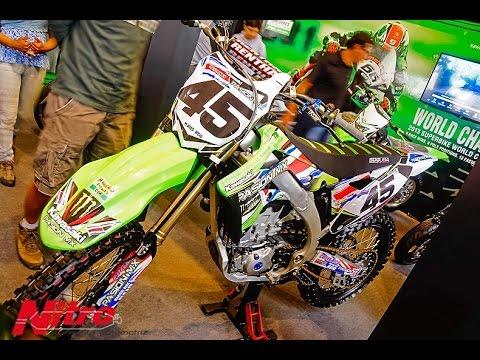 Kawasaki impone sus motos en Motorshow 2014