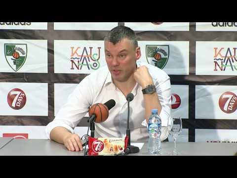 EuroLeague: Žalgiris Kaunas – AX Armani Exchange Olimpia Milan press conference
