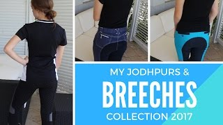 MY JODHPUR & BREECHES COLLECTION 2017