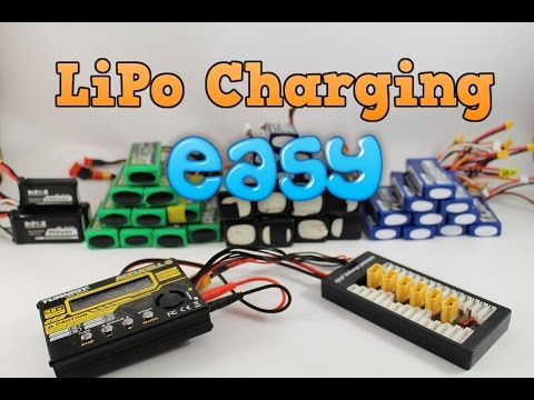 Beginners guide to charging LiPo batteries + parallel charging