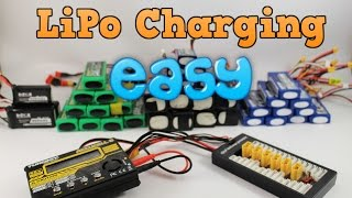 Beginners guide to chaŗging LiPo batteries + parallel charging