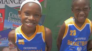 Who is the number one basketball team in Trinidad Team Enterprise Playing At fiesta weekend 2019