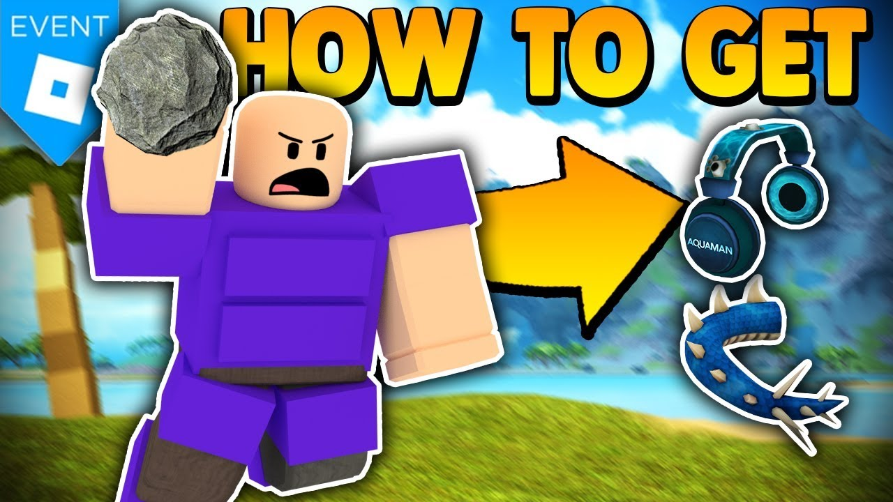 How To Get Aquaman Event Items New Booga Booga Update Roblox