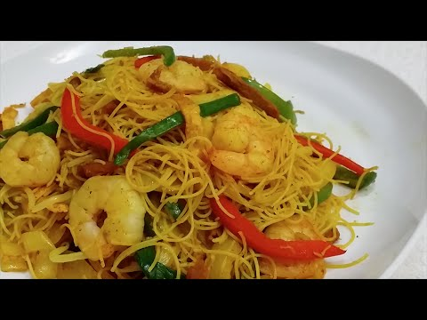 Singapore Fried Rice Noodles Recipe Recipes — Dishmaps
