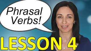 Phrasal Verbs in Daily English Conversations - Lesson 4