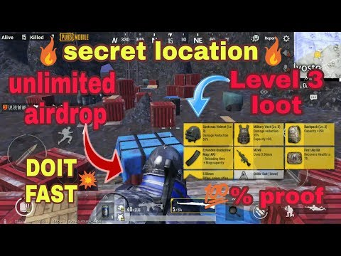Unlimited Loot Air Drop Cave In Vikendi Secret Location In Pubg Mobile Razorxgamer