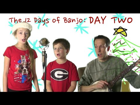 Clawhammer Banjo: 12 Days of Banjo -