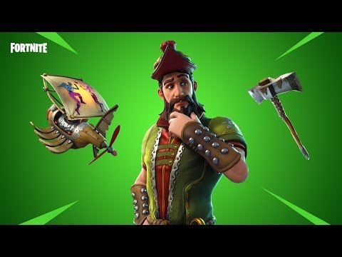 Fortnite new Skins.Hacivat,tree splitter - Robin hood skin