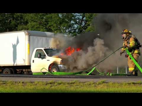 Truck fire Saratoga Springs July 30 2011 -long version