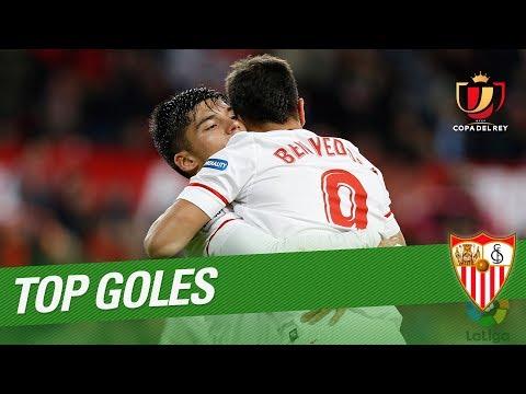 TOP 5 Goles Sevilla FC LaCopa 17/18