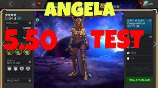 Angela 5.50 ve Test - MCOC