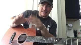 Holding Her | Chris Janson | Beginner Guitar Lesson