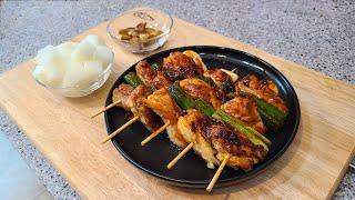 매콤한 닭꼬치 만들기 | 핵불맛 닭꼬치 소스 | chi…