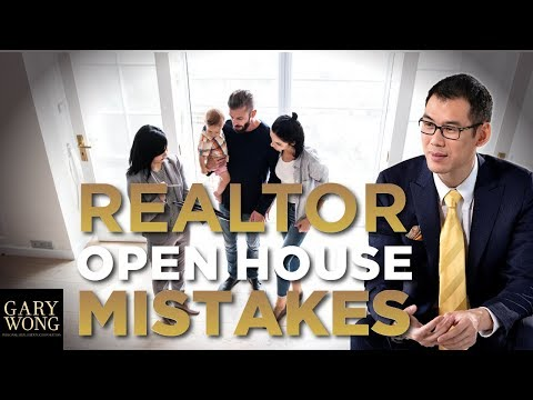 5 BIGGEST Open House Realtor Mistakes