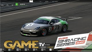 Game TV Schweiz - SWISS SIMRACING SERIES 30.10.2019