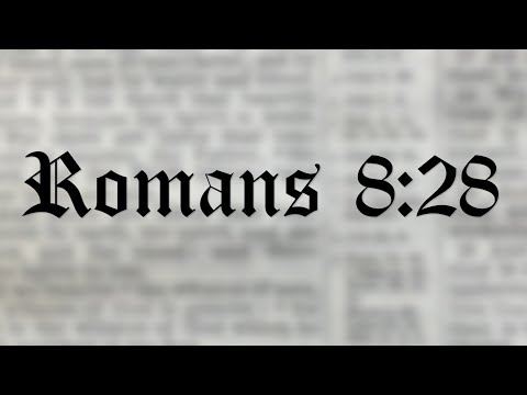 It's NOT All Good (Romans 8:28)