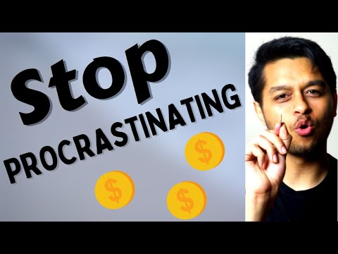 How to Stop Procrastinating and Be Productive