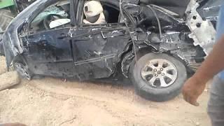 حادث مرور بلدية القديد-الجلفة
