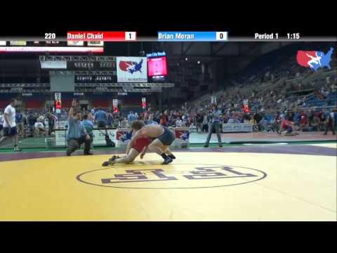 Fargo 2012 220 Round 2: Daniel Chaid (California) vs. Brian Moran (Michigan)