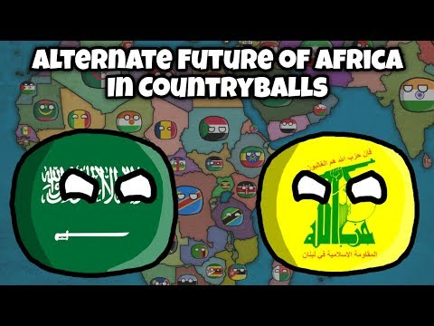 Alternate Future of Africa in Countryballs #3