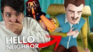 AL VECINO LE DA UN ATAQUE AL CORAZÓN !! WTF | HELLO NEIGHBOR Heart surgery