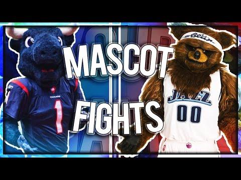 Mascot Fight Compilation