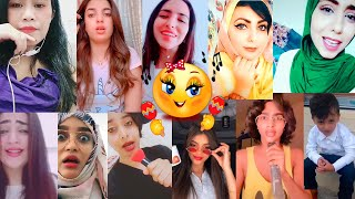 تجميعات تيك توك 1  تقليد بنات لمشاهير اليمن   اغاني يمنية