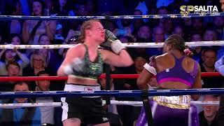 CLARESSA SHIELDS VS SZILVIA SZABADOS FULL FIGHT